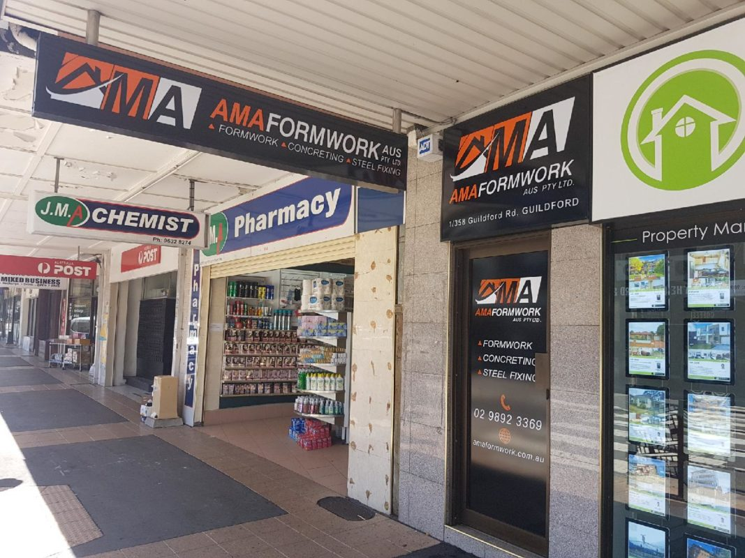 professional Formwork & Concrete services-